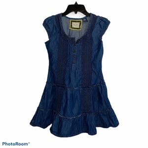 Vintage Guess Jeans Blue Jean Dress Girl's 14